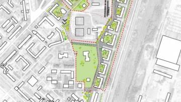 План будущего жилого квартала в Гатчине