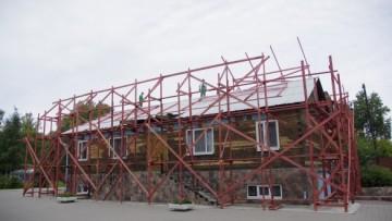 Строительство воскресной школы в Коломягах