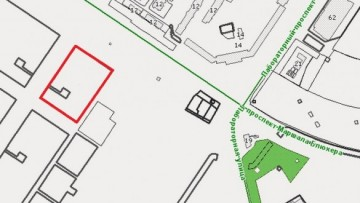 Карта участка на Блюхера