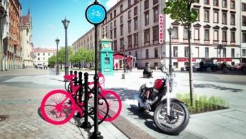 Проект велопарковки Ольги Боевой