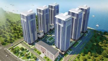Проект жилого комплекса Речной в Рыбацком