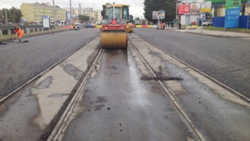 Трамвайные пути на Обводном канале