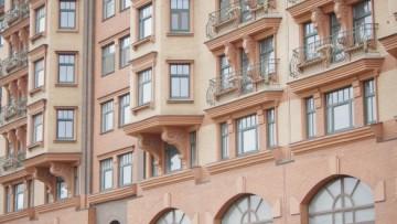 Фасады Васильевского квартала