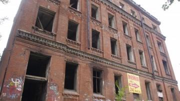 Заброшенный дом на Обуховской Обороны