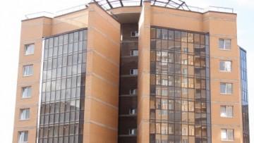 Одно из жилых зданий комплекса «Панорама 360°»