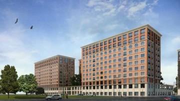 Проект комплекса Docklands на проспекте КИМа, 19
