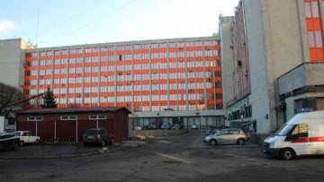 Двор бизнес-центра Меридиан