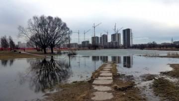 Парк Интернационалистов, потоп