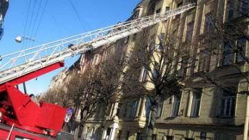 Пожар в доме на Красного Курсанта, 9а