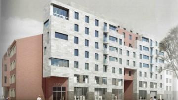 Проект со стороны улицы Котовского