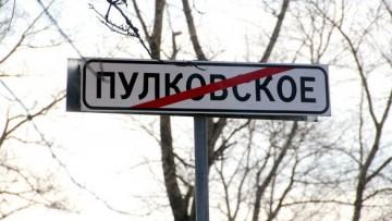 Пулковское, конец населенного пункта