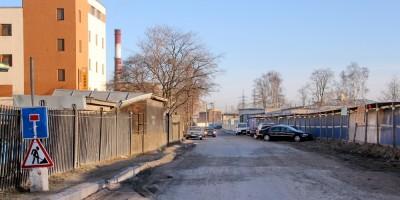 Улица Ивана Зубкова в Автове