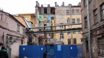 Снос дома на Лиговском, 117
