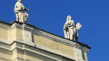 Скульптуры на базилике Святой Екатерины