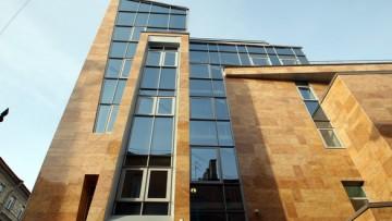 Архитектура бизнес-центра Сенатор