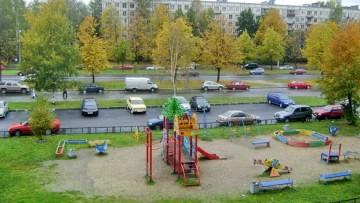 Детская площадка на Карпинского