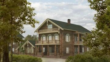 Дома Дворцовой деревни в Петергофе