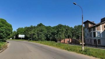 Дорога к Шалашу Ленина, участок под базу отдыха
