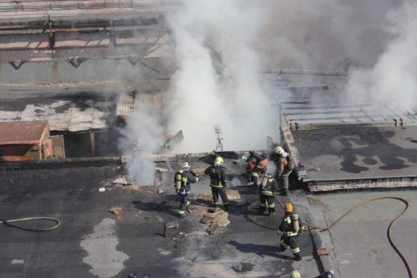 Дым из крыши