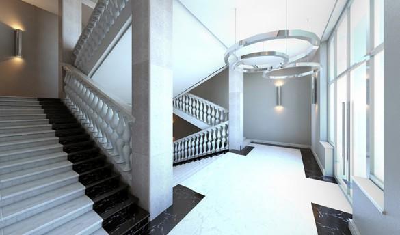 Лестница Фрунзенского универмага
