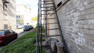 Лестница котельной