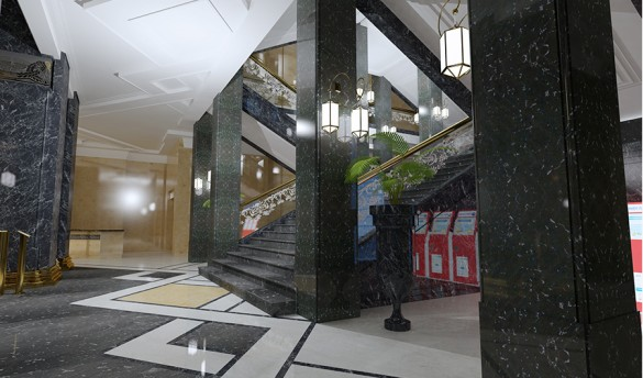Лестница во Фрунзенском универмаге