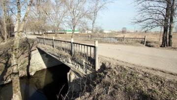 Мост через Славянку на Муромской улице