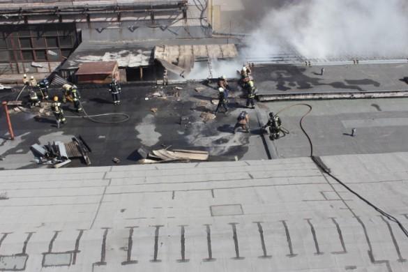 Пожар на Магнитогорской