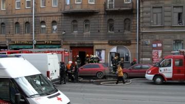 Пожар на улице Марата, 36-48