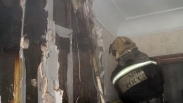 Пожар в коммуналке