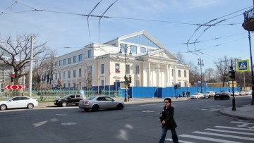 Реконструкция кинотетра Ленинград