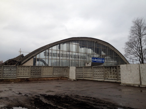 Снос спорткомплекса Динамо на Крестовском