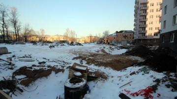 Стройплощадка Охта-модерна