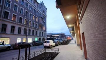 Тротуар Рязанского переулка