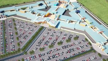 Новый торговый комплекс в Пулкове