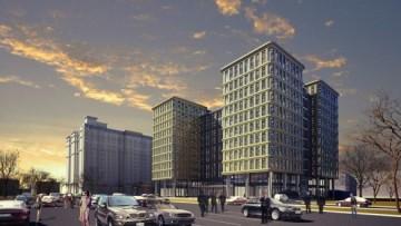 Бизнес-центр на Варшавской улице