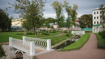 Водоем в Польском саду