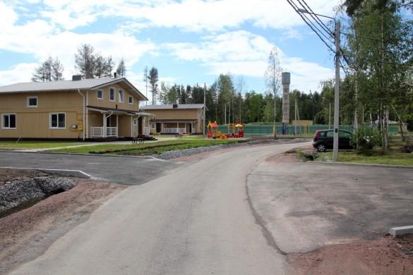 Абрикосовая улица в Солнечном-2