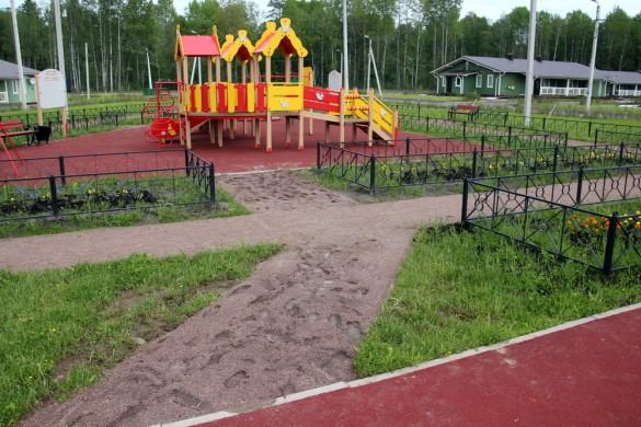 Дорожки на детскую площадку