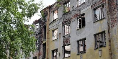 Фасад дома на Тихорецком, 5