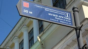 Музей Арктики, указатель
