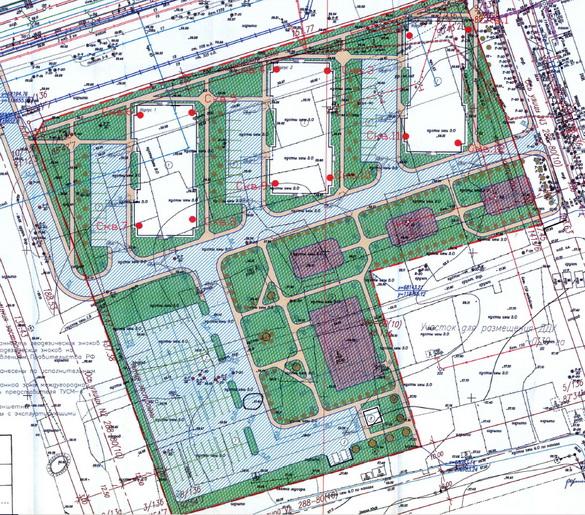 План застройки на Саперной улице