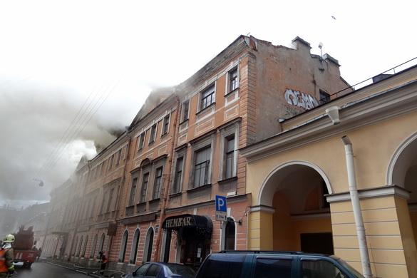 Пожар на Ломоносова, 3