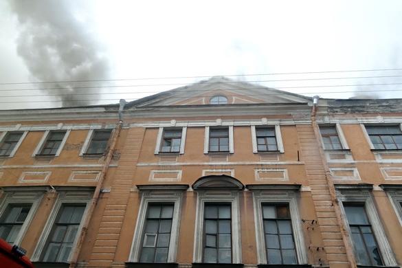 Пожар в Апраксином дворе