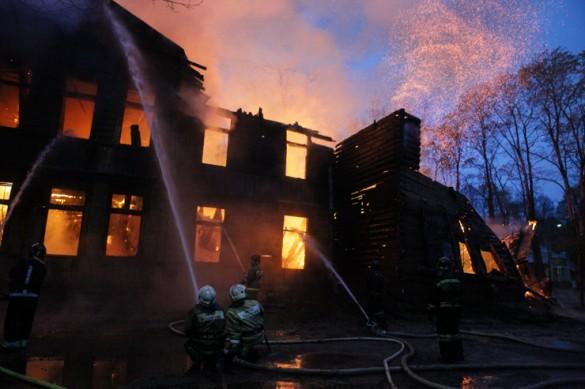 Пожар в психбольнице Скворцова-Степанова