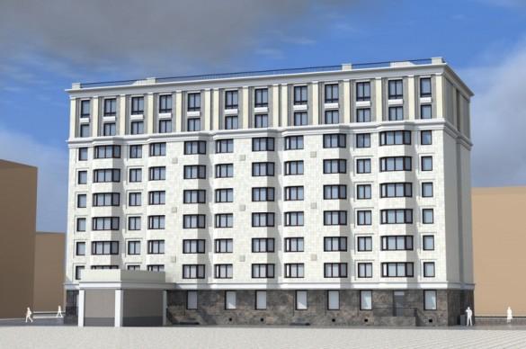 Проект апарт-отеля на Швецова, 8