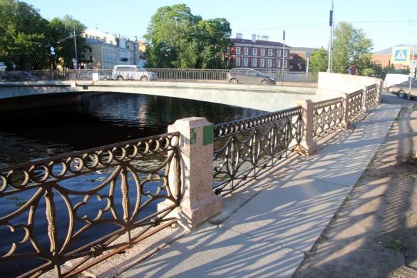 Решетка Мойки у Храповицкого моста