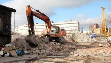Рыбинская улица, вывоз строительного мусора