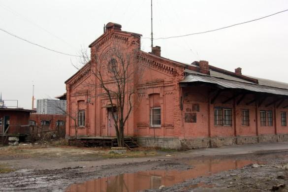 Северный товарный пакгауз Варшавского вокзала