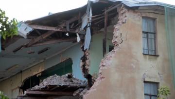 Снос дома на Сытнинской